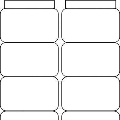 Accordion – 8 Rounded Rectangle Short